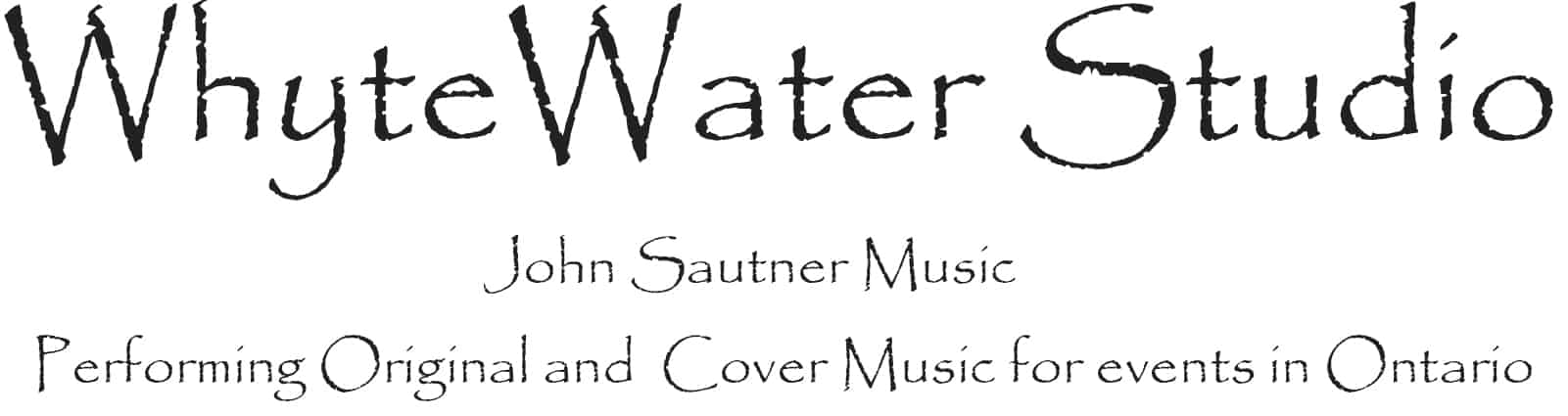 John Sautner and WhyteWater Studio